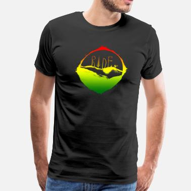 Mountain Running MTB ride Rasta - Men's Premium T-Shirt