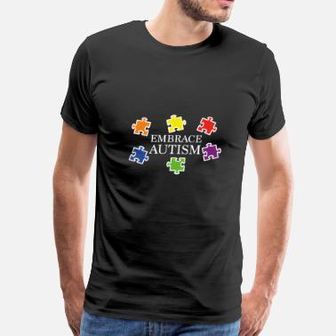 Embracement Embrace Autism - Men's Premium T-Shirt