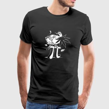 Chicken Pot Pi - Men's Premium T-Shirt
