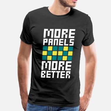Ddr MORE PANELS MORE BETTER - Men's Premium T-Shirt