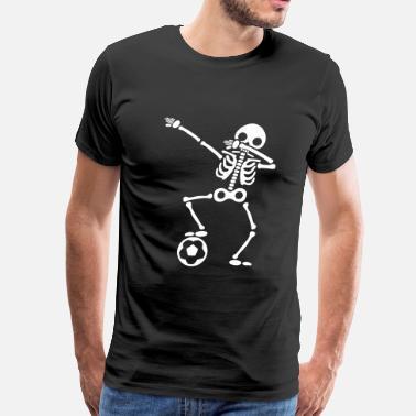 c6292a18 Shop Dabbing Skeleton Soccer T-Shirts online | Spreadshirt