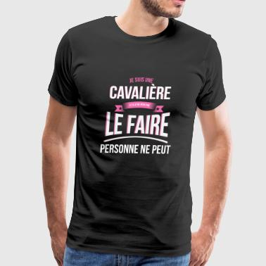 Cavaliere Rider no one can gift - Men's Premium T-Shirt