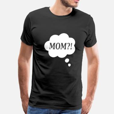 Thought Thought Bubble - Men's Premium T-Shirt