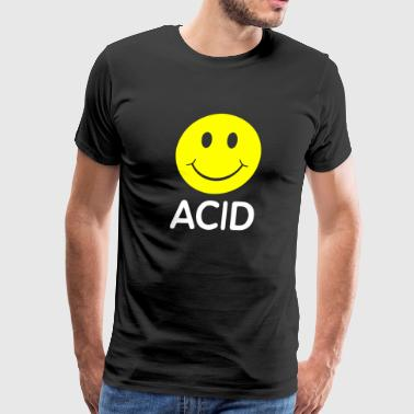 Smiley House Acid - Men's Premium T-Shirt