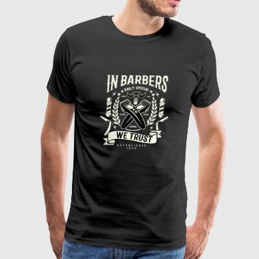 In Barbers - Men's Premium T-Shirt
