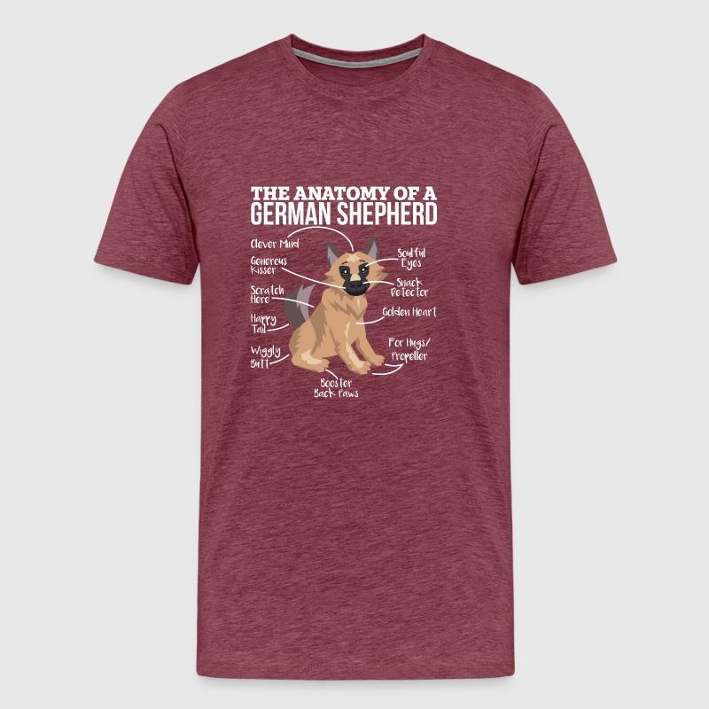 Anatomy Of A German Shepherd Gift by yeoys | Spreadshirt