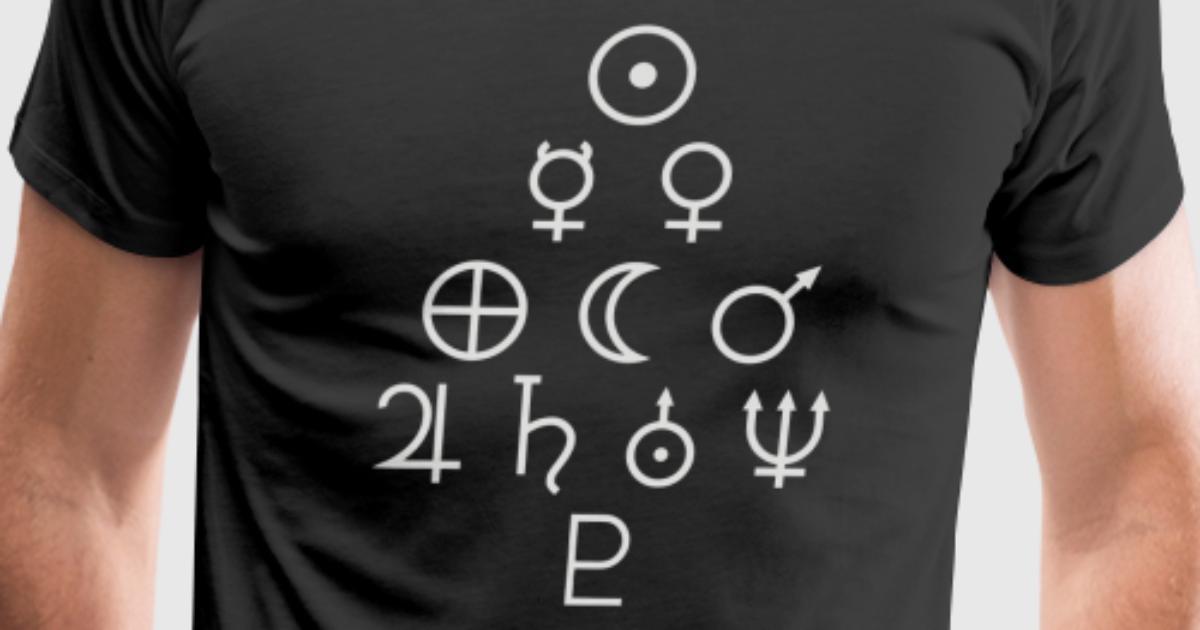 Solar System Symbols By Eko23 Spreadshirt