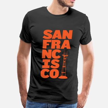 Eyesore San Francisco Block Sutro - Men's Premium T-Shirt