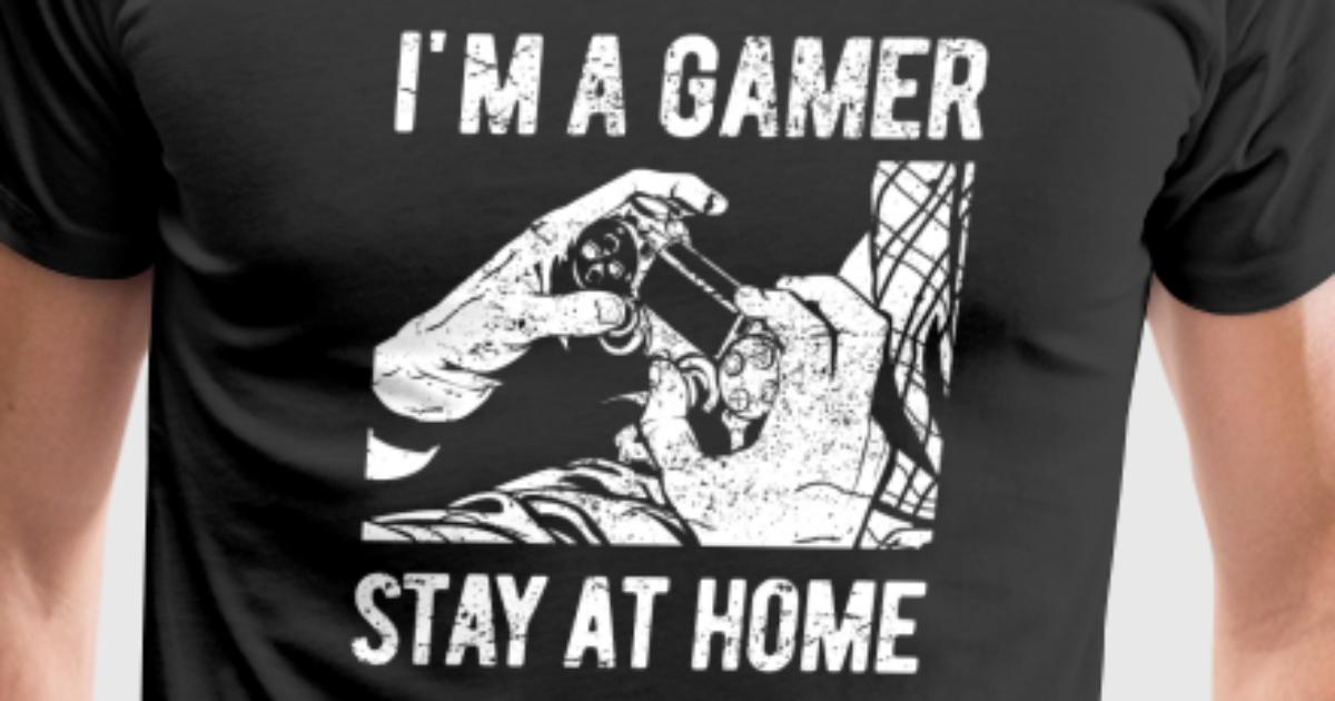 Im a Gamer - funny video game shirt gift vintage by ARTIKA | Spreadshirt