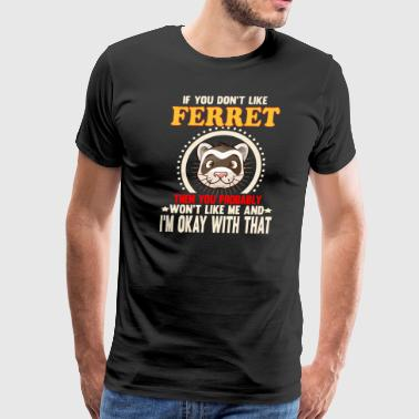 FERRET Animals Lover - Men's Premium T-Shirt