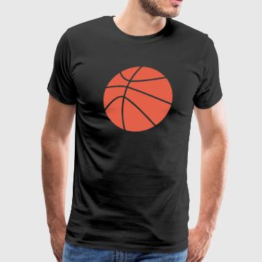 Basketball Cartoon - Men's Premium T-Shirt