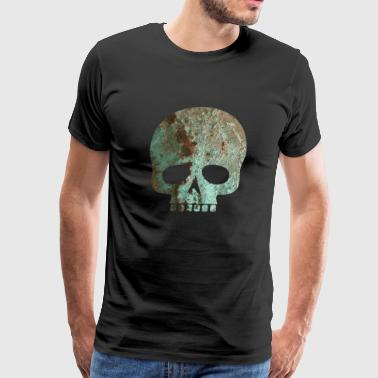 rusty skull - Men's Premium T-Shirt
