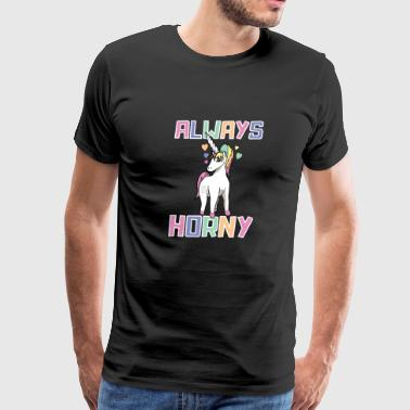 Horny Unicorn - Men's Premium T-Shirt