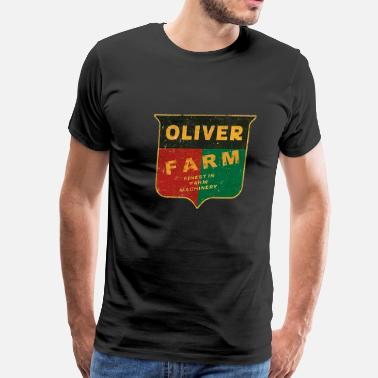 Oliver Tractor Oliver Farm Equipment - Men's Premium T-Shirt