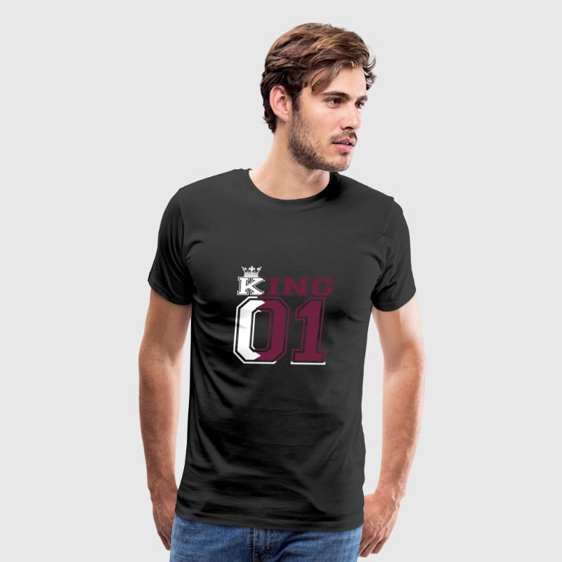 gift couple land king 01 prince Qatar - Men's Premium T-Shirt
