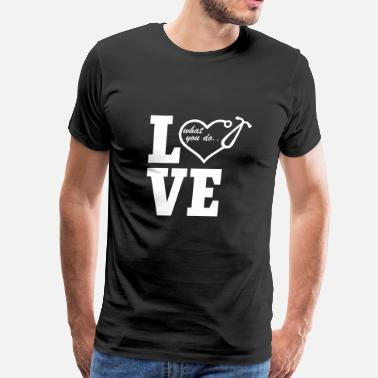 Nurse Love Love Nurse - Men's Premium T-Shirt