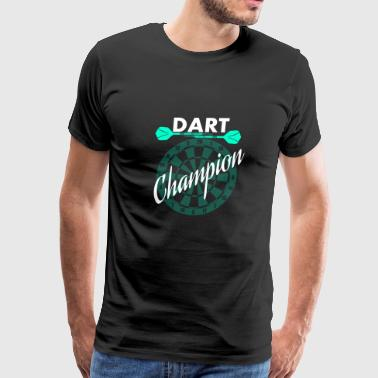 Dart champion - Men's Premium T-Shirt