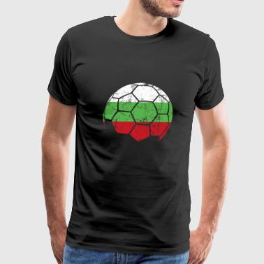 Bulgaria Soccer Football Ball - Men's Premium T-Shirt