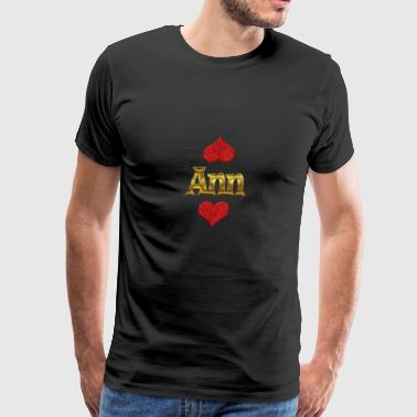 Ann - Men's Premium T-Shirt