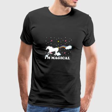 magical horse unicorn - Men's Premium T-Shirt