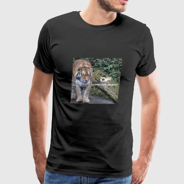Forever Great tiger design - Men's Premium T-Shirt
