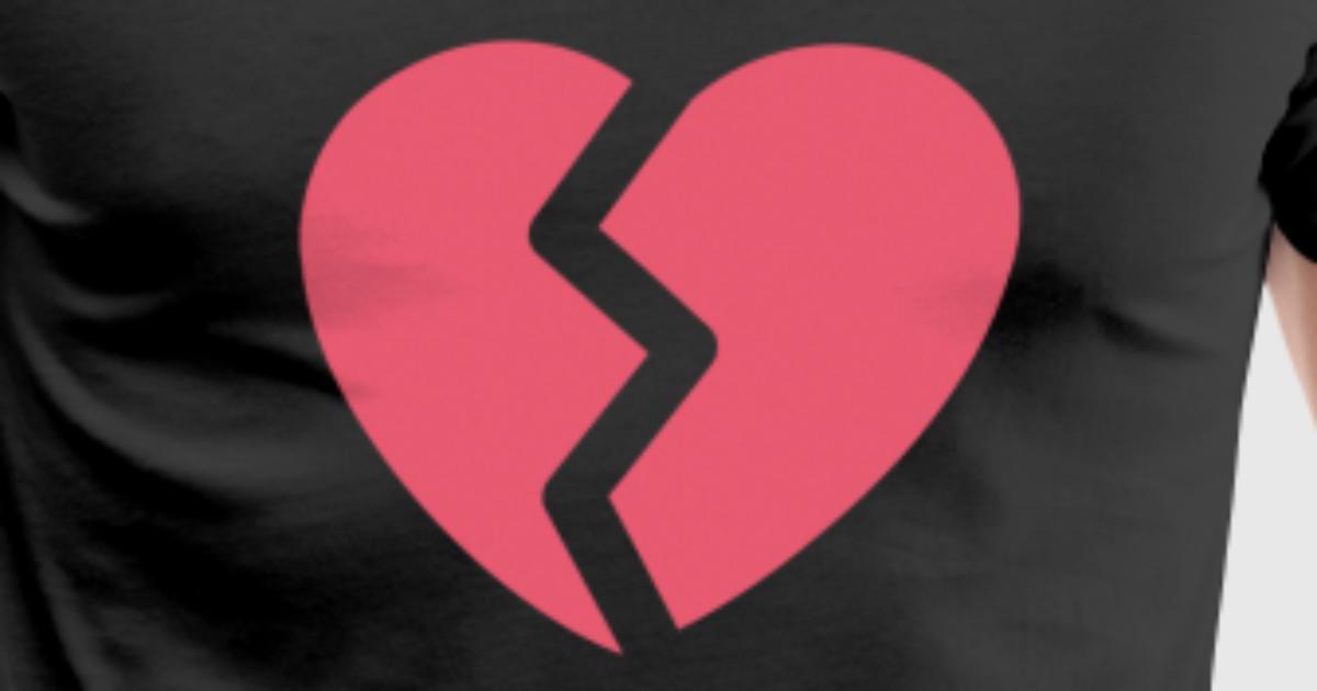 Broken Heart By Spreadshirt