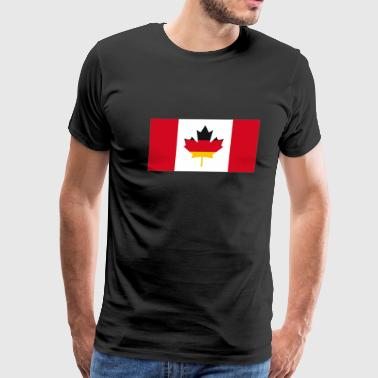 Canada Germany Flag - Men's Premium T-Shirt