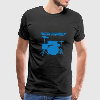 Future Drummer - Men's Premium T-Shirt