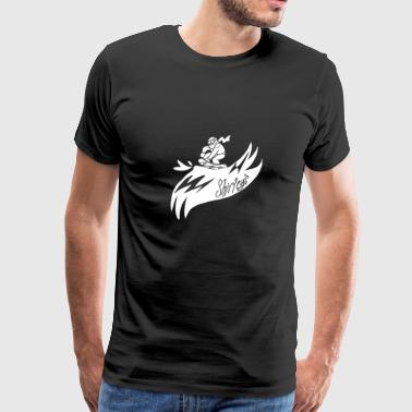 Shirleys Snowboarder - Men's Premium T-Shirt