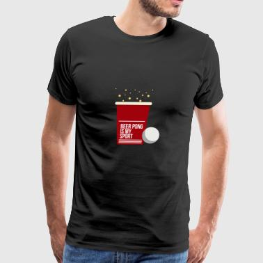 Drinking game drinking beer - Men's Premium T-Shirt
