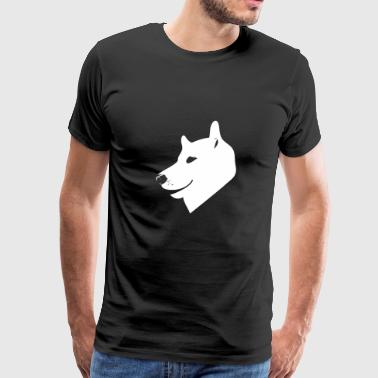 Head dog - Men's Premium T-Shirt