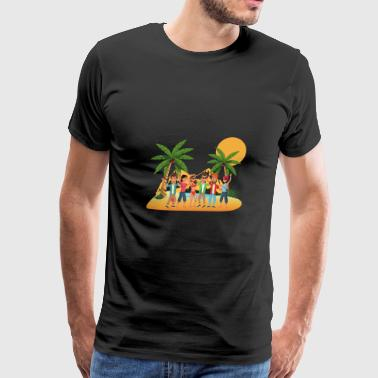 Beach Party Summer Beach Party - Men's Premium T-Shirt