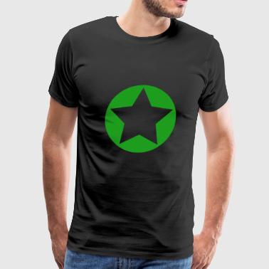 Star Green - Men's Premium T-Shirt