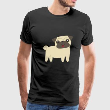 Baby Pug Dog - Men's Premium T-Shirt