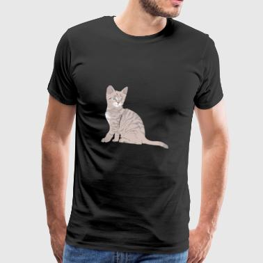 Cute Little Kitten Perfect Gift Idea - Men's Premium T-Shirt