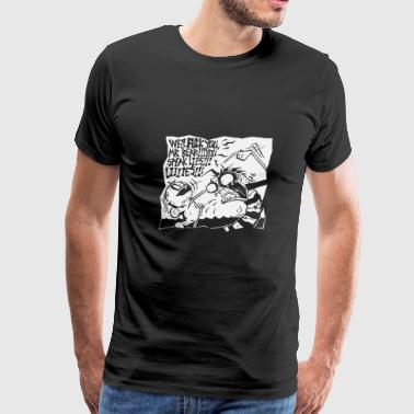 FU mr bear - Men's Premium T-Shirt