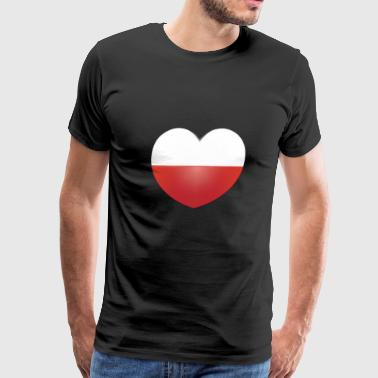 Nice Shirt for Poland Lovers Perfect Gift Idea - Men's Premium T-Shirt