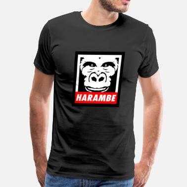 Justice For Harambe HARAMBE - Men's Premium T-Shirt