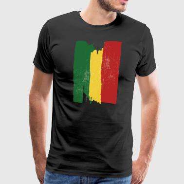 Ethiopian flag - Men's Premium T-Shirt