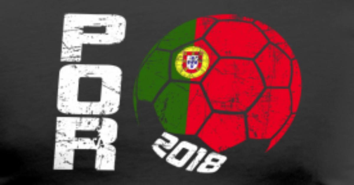 Soccer Ball 2018 Portugal By Old School Spreadshirt