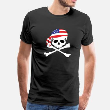 4xl Pirate American Pirate - Men's Premium T-Shirt