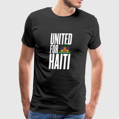 Authors Rights united for haiti white - all author rights will be - Men's Premium T-Shirt