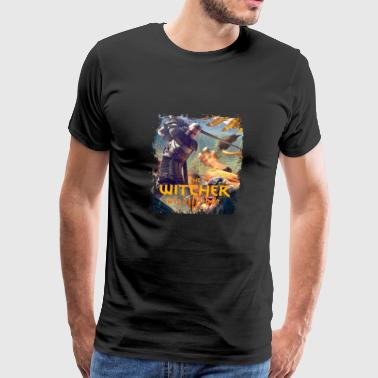 The Witcher 3 - Griffin - Men's Premium T-Shirt