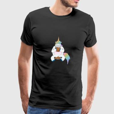 Unicorn Fat girls sweet - Men's Premium T-Shirt