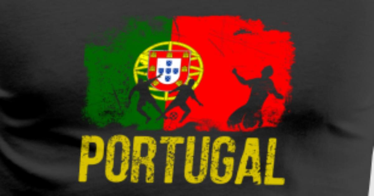 Portuguese Soccer Player Flag Of Portugal Long Sle By Spreadshirt