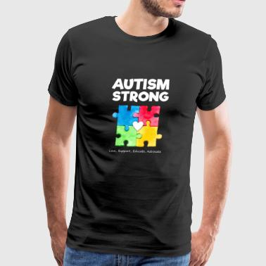 Autism Awareness Strong T Shirt - Men's Premium T-Shirt