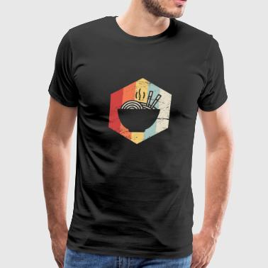 Iconic 70s Retro 70s Ramen Icon - Men's Premium T-Shirt