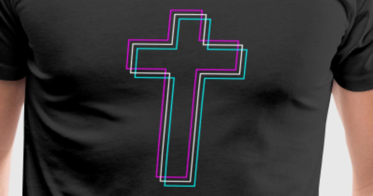 Christian Cross Vaporwave Aesthetic By Spreadshirt