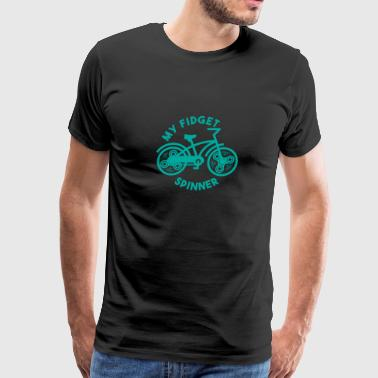 My Fidget Spinner Shirt - Bicycle Gift - Men's Premium T-Shirt