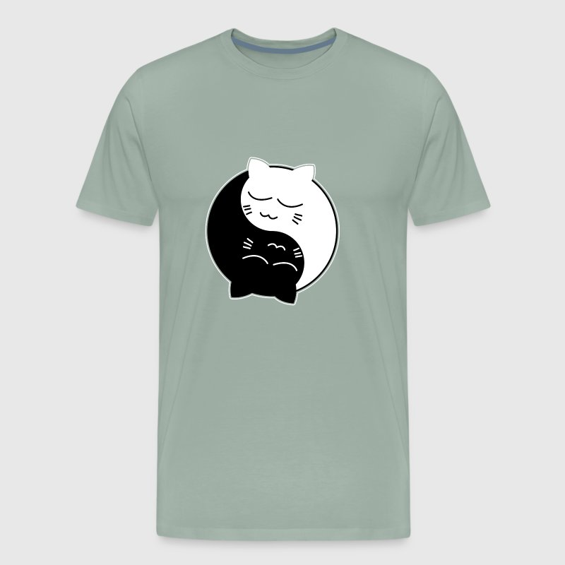 Yin Yang Cats Chinese Tai Chi Symbol Cool Holiday By
